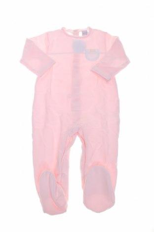 Salopetă pentru copii. BabiDu, Mărime 12-18m/ 80-86 cm, Culoare Roz, 95% bumbac, 5% elastan, Preț 64,05 Lei