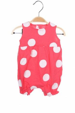 Salopetă pentru copii. Carter's, Mărime 2-3m/ 56-62 cm, Culoare Roz, 100% bumbac, Preț 82,90 Lei