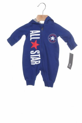 Salopetă pentru copii. Converse, Mărime 1-2m/ 50-56 cm, Culoare Albastru, 60% bumbac, 40% poliester, Preț 108,95 Lei
