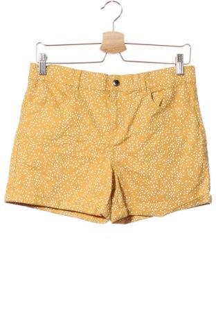 Детски къс панталон Anko, Размер 15-18y/ 170-176 см, Цвят Жълт, 98% памук, 2% еластан, Цена 6,04лв.