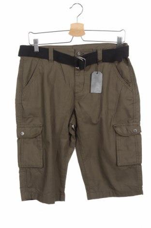 Pantaloni scurți pentru copii Arizona, Mărime 15-18y/ 170-176 cm, Culoare Verde, Bumbac, Preț 62,01 Lei