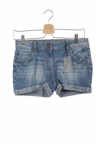 Dětské krátké kalhoty  Arizona, Velikost 12-13y/ 158-164 cm, Barva Modrá, 98% bavlna, 2% elastan, Cena  220,00Kč