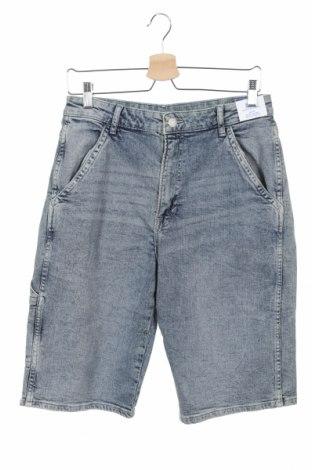 Pantaloni scurți pentru copii H&M, Mărime 15-18y/ 170-176 cm, Culoare Albastru, Preț 32,49 Lei