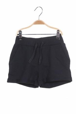 Pantaloni scurți pentru copii Name It, Mărime 7-8y/ 128-134 cm, Culoare Albastru, 95% bumbac, 5% elastan, Preț 71,05 Lei