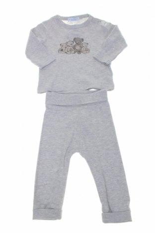 Set pentru copii Klitzeklein, Mărime 3-6m/ 62-68 cm, Culoare Gri, 95% bumbac, 5% viscoză, Preț 75,66 Lei