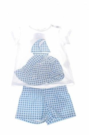 Детски комплект Little Celebs, Размер 9-12m/ 74-80 см, Цвят Бял, Памук, Цена 29,70лв.