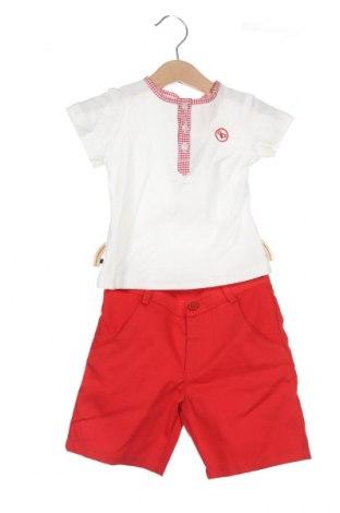 Παιδικό σύνολο Lola Palacios, Μέγεθος 18-24m/ 86-98 εκ., Χρώμα Λευκό, Βαμβάκι, Τιμή 5,78€