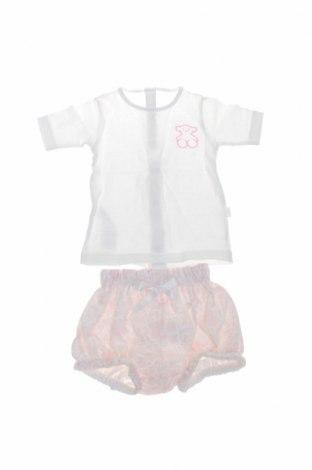 Set pentru copii Tous, Mărime 12-18m/ 80-86 cm, Culoare Alb, Bumbac, Preț 53,19 Lei