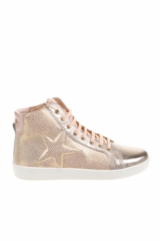 Детски обувки Bisgaard, Размер 36, Цвят Златист, Естествена кожа, Цена 119,50лв.