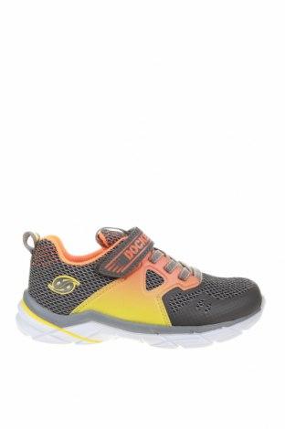 Детски обувки Dockers by Gerli, Размер 31, Цвят Сив, Текстил, еко кожа, Цена 34,22лв.