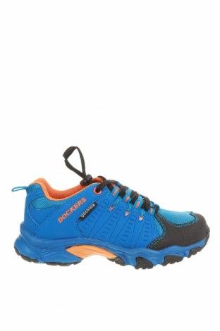 Детски обувки Dockers by Gerli, Размер 31, Цвят Син, Текстил, еко кожа, Цена 34,22лв.