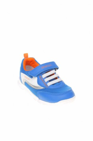Детски обувки Geox, Размер 24, Цвят Син, Текстил, еко кожа, Цена 74,25лв.