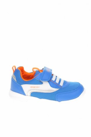 Детски обувки Geox, Размер 27, Цвят Син, Текстил, еко кожа, Цена 52,47лв.