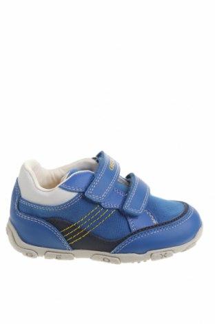 Детски обувки Geox, Размер 24, Цвят Син, Текстил, еко кожа, Цена 51,94лв.