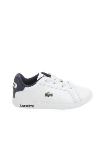 Детски обувки Lacoste, Размер 23, Цвят Бял, Еко кожа, Цена 65,45лв.