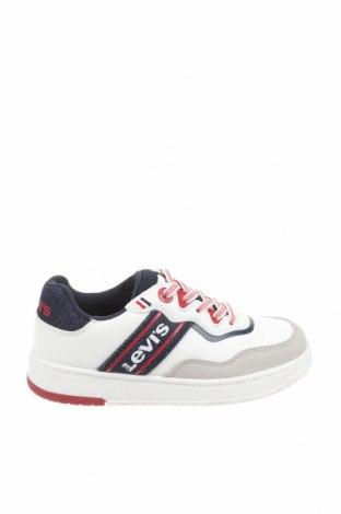 Детски обувки Levi's, Размер 29, Цвят Многоцветен, Естествен велур, еко кожа, текстил, Цена 74,25лв.