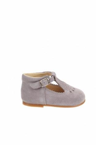 Детски обувки Lola Palacios, Размер 20, Цвят Лилав, Естествен велур, Цена 40,05лв.
