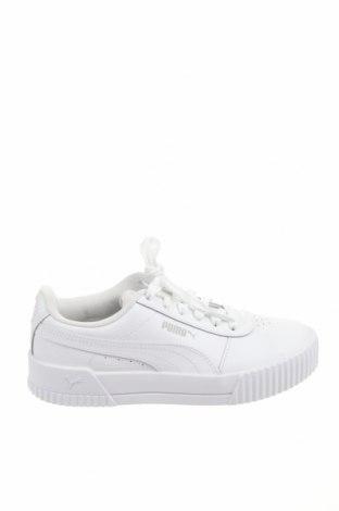 Детски обувки PUMA, Размер 36, Цвят Бял, Естествена кожа, Цена 96,75лв.