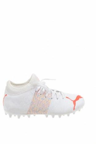 Детски обувки PUMA, Размер 33, Цвят Бял, Еко кожа, Цена 47,17лв.