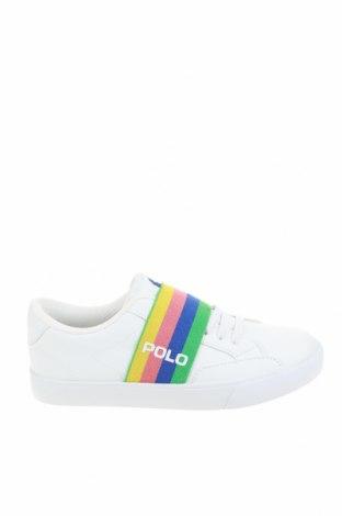 Детски обувки Polo By Ralph Lauren, Размер 30, Цвят Бял, Еко кожа, текстил, Цена 69,50лв.