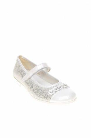 Детски обувки Primigi, Размер 34, Цвят Екрю, Текстил, естествена кожа, Цена 35,55лв.