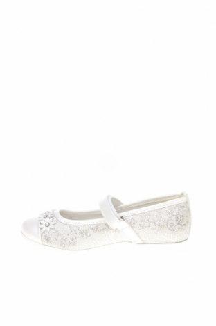 Детски обувки Primigi, Размер 29, Цвят Екрю, Текстил, естествена кожа, Цена 25,84лв.