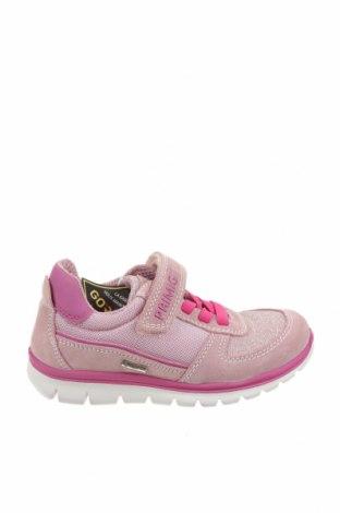 Детски обувки Primigi, Размер 28, Цвят Розов, Естествен велур, текстил, Цена 51,62лв.