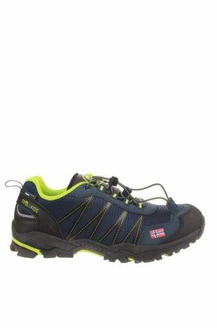Детски обувки Trollkids, Размер 38, Цвят Син, Текстил, еко кожа, Цена 40,02лв.