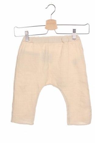 Pantaloni pentru copii Arket, Mărime 18-24m/ 86-98 cm, Culoare Bej, 100% bumbac, Preț 102,14 Lei
