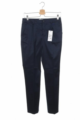 Pantaloni pentru copii Cyrillus, Mărime 14-15y/ 168-170 cm, Culoare Albastru, 65% bumbac, 31% poliester, 4% elastan, Preț 129,94 Lei
