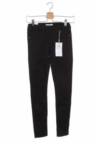 Pantaloni pentru copii Name It, Mărime 11-12y/ 152-158 cm, Culoare Negru, 70% bumbac, 28% poliester, 3% elastan, Preț 97,04 Lei