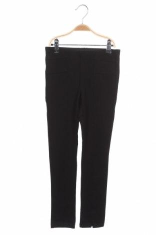 Pantaloni pentru copii Name It, Mărime 7-8y/ 128-134 cm, Culoare Negru, 57% viscoză, 37% poliester, 6% elastan, Preț 93,48 Lei