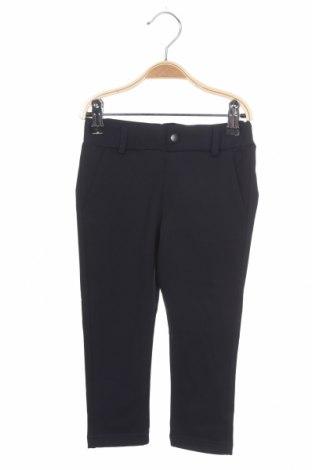 Pantaloni pentru copii Name It, Mărime 18-24m/ 86-98 cm, Culoare Albastru, 57% viscoză, 37% poliester, 6% elastan, Preț 80,13 Lei