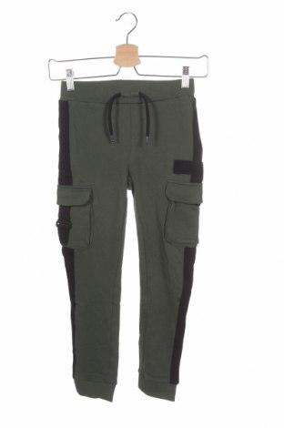 Pantaloni pentru copii Name It, Mărime 7-8y/ 128-134 cm, Culoare Verde, Bumbac, Preț 93,48 Lei