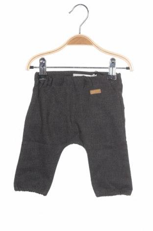 Pantaloni pentru copii Name It, Mărime 1-2m/ 50-56 cm, Culoare Gri, Bumbac, Preț 80,13 Lei