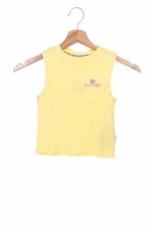 Детски потник Vingino, Размер 8-9y/ 134-140 см, Цвят Жълт, 95% памук, 5% еластан, Цена 16,80лв.