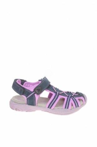 Детски сандали Ciao, Размер 31, Цвят Син, Естествен велур, текстил, Цена 29,25лв.