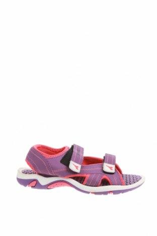 Детски сандали Diadora, Размер 34, Цвят Лилав, Еко кожа, текстил, Цена 17,85лв.