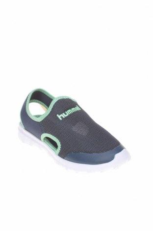 Детски сандали Hummel, Размер 32, Цвят Син, Текстил, Цена 29,67лв.