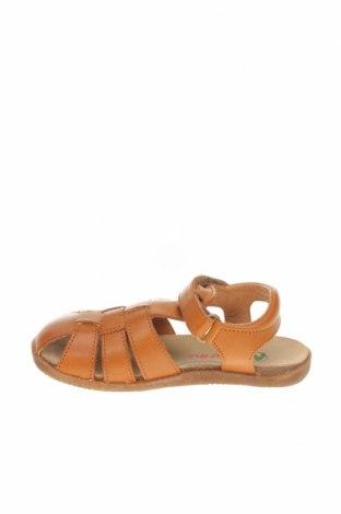 Детски сандали Naturino, Размер 27, Цвят Кафяв, Естествена кожа, Цена 66,75лв.