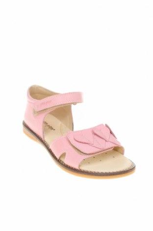 Детски сандали Pom Pom, Размер 34, Цвят Розов, Естествена кожа, Цена 46,87лв.