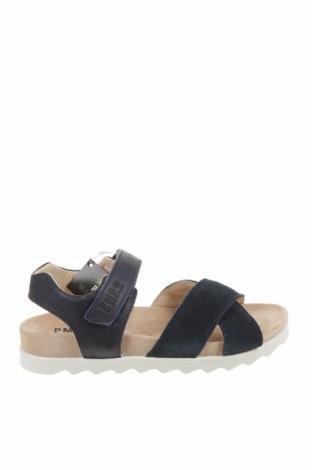 Детски сандали Primigi, Размер 36, Цвят Син, Естествена кожа, естествен велур, Цена 52,32лв.