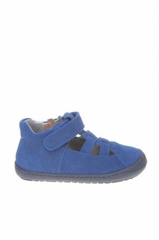 Детски сандали Richter, Размер 23, Цвят Син, Естествен велур, Цена 40,02лв.