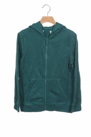 Детски суичър, Размер 10-11y/ 146-152 см, Цвят Зелен, Цена 17,28лв.