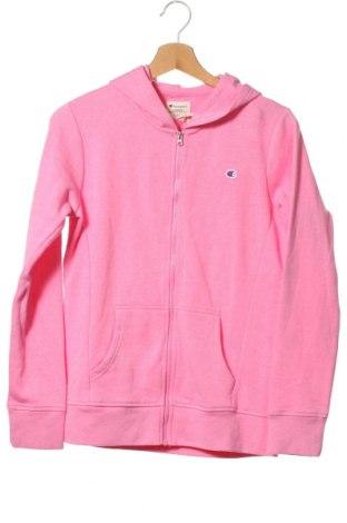 Dětská mikina  Champion, Velikost 13-14y/ 164-168 cm, Barva Růžová, 60% bavlna, 40% polyester, Cena  352,00Kč