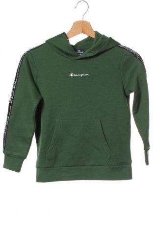Детски суичър Champion, Размер 7-8y/ 128-134 см, Цвят Зелен, 60% памук, 40% полиестер, Цена 25,20лв.