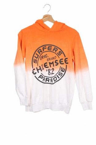 Детски суичър Chiemsee, Размер 11-12y/ 152-158 см, Цвят Оранжев, Памук, Цена 31,05лв.