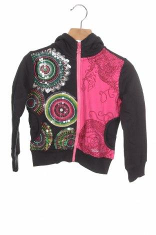 Dziecięca bluza Desigual, Rozmiar 3-4y/ 104-110 cm, Kolor Kolorowy, 99% bawełna, 1% elastyna, Cena 99,00zł