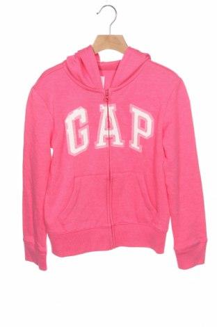 Hanorac pentru copii Gap, Mărime 7-8y/ 128-134 cm, Culoare Roz, 60% bumbac, 40% poliester, Preț 87,77 Lei