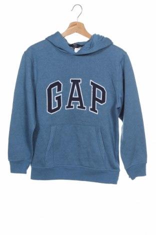 Dětská mikina  Gap Kids, Velikost 12-13y/ 158-164 cm, Barva Modrá, 60% bavlna, 40% polyester, Cena  268,00Kč